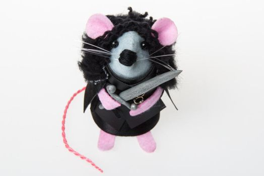 Jon Snow Mouse by The-House-of-Mouse