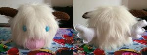 Poro Plush from LOL by aresen-k