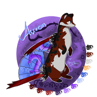 Custom Fanzell : Auron for xColere by StanHoneyThief