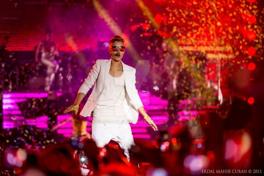 Justin Bieber - Istanbul 2013 by curan