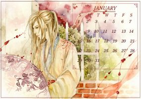Calendar 2012 -January by sinvia