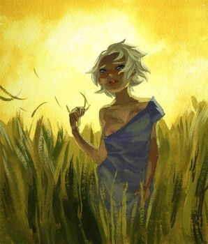 Dany in some grass. by toerning