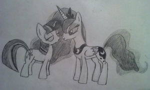 Luna and Twilight by Assassino01