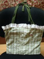 Plaid Green Tote Bag by Kimmybeans