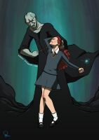 Hermione - Putting Up A Fight by nirman