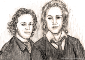 Ylvisaker Brothers by marichan26