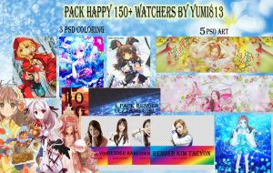 PACK BIG SHARE [HAPPY 150+ Watchers]---STOP SHARE! by Yumi813