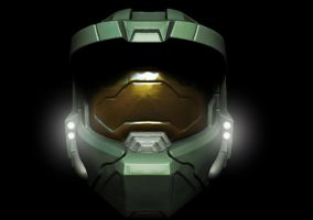 Master Chief Helmet WIP by Grimnor