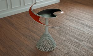 Helicoid Table by LuxXeon
