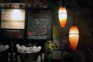 Lights of the Coffee Shop by paravex