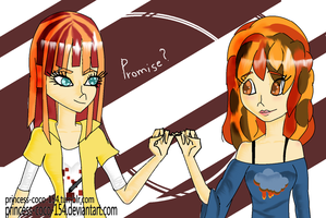 sisters' promise by Princess-CoCo-154