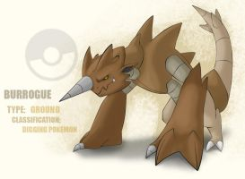 Pokemon Burrogue by Max-Nohiro