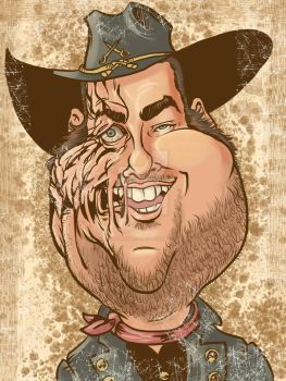 Jonah Hill Hex by TonyTempest