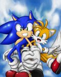 sonic and tails by shoppaaaa