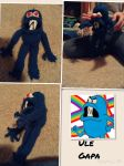 Ule Gapa From Uncle Grandpa Knitted Doll by MagicalMermaid-N