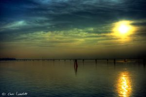 Tramonto da Burano by Brompled