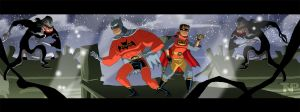 The Adventures of Bootleg Batman and Robin! by tnperkins