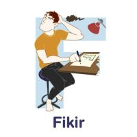 ABCDraw: F is for Fikir by adifitri