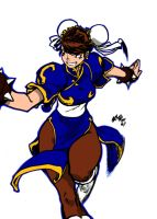 Chun-Li Commission by Master-COG