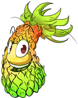 :CO: Cheerful pineapple by Blumestien