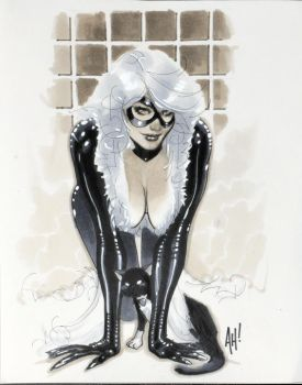 Black Cat and Kitty by AdamHughes