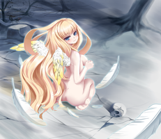 Lonely Angel by Ixora140