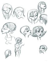 Face Studies 2 by fyre-flye