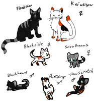 Cat Breedables #3 Litter14 by AerithsAdopts