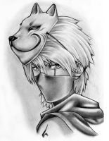 Kakashi anbu by DurimAzemi