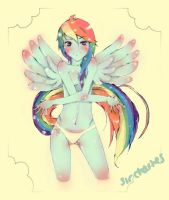 Rainbow Dash by jcharlesmachiavelli