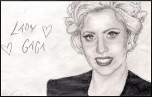 Lady Gaga 6 by xDiscoCatx