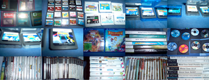 some of my games (all my games list in desc) by XxA-Bubble-GumxX