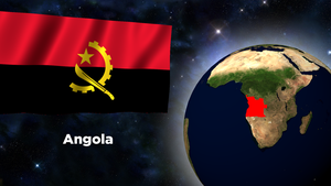 Flag Wallpaper - Angola by darellnonis