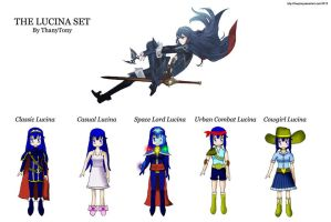 The Lucina Set [COMPLETE] by ThanyTony