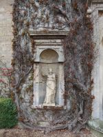 Ivy Statue Alcove 02 by fuguestock