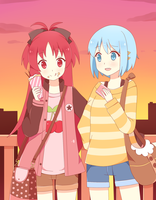 KyoSaya by TheSoundOfFreedom