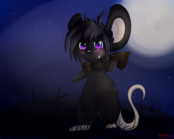InaBel, The Dark mouse by Maspaz04
