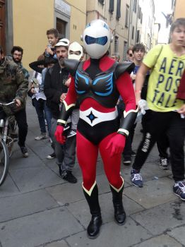 Actarus (Ufo Robot Grendizer) - Lucca Comics 2013 by Groucho91