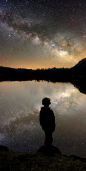 Lake Milkyway by androidny