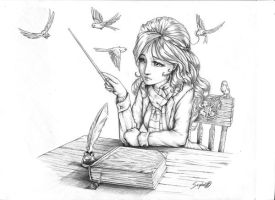 Hermione - HBP by seghal