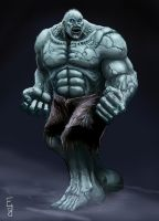 Solomon Grundy by EdwardDelandreArt