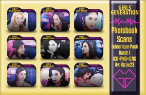 SNSD Mr. Mr. Photobook Scans Folder Icon Pack by Rizzie23