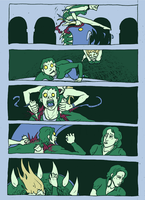 Lucy vs Sexy zombies p6 by Fred-S-Kaed