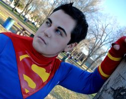 SuperBoy: Somewhere Along The Road by kay-sama