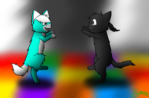 +PC+ kami does dancing by CoolCodeCat