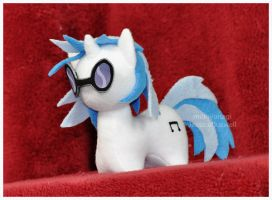 Commission - MLP - Itsy-Pony Vinyl Scratch by mihoyonagi