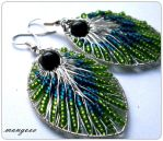 Peacock feathers by manngo