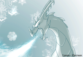 Ice breath by zavraan