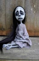 Gothic art doll Sanako by VeronikaLozovaya