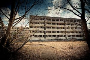 Ghost town by mjagiellicz
